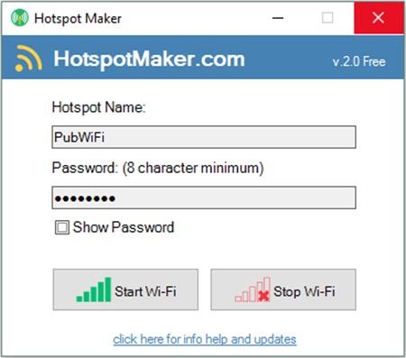 Hotspot Maker