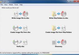 CD, DVD ve ISO Yazma Programı – ImgBurn İndir