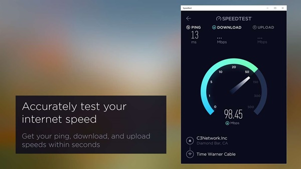 Speedtest by Ookla windows 10