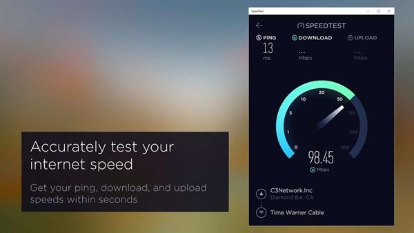 Speedtest by Ookla windows 10