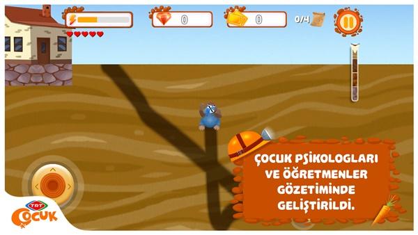 TRT Köstebekgiller oyunu