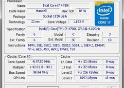 Bilgisayar Özellikleri Öğrenme Programı – CPU-Z İndir