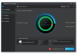 Sürücü Güncelleme Programı – Ashampoo Driver Updater İndir