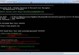 Kayıtlı Firefox Şifrelerini Bulma Programı – FirePassword İndir