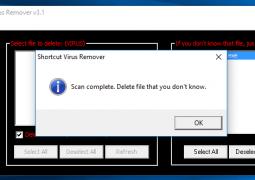Kısayol Virüsü Temizleme Programı – Shortcut Virus Remover İndir